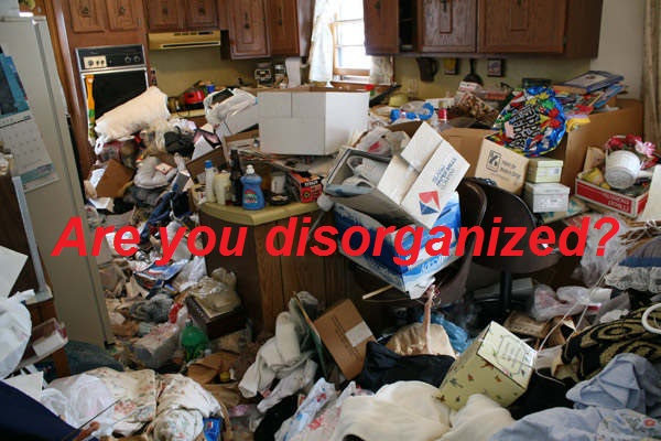 are you disorganized