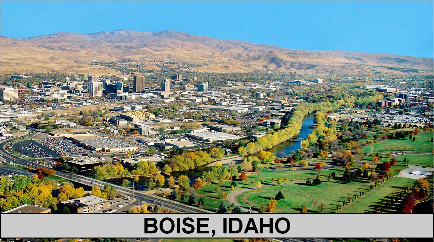 Cities Near Boise Idaho